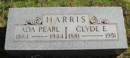 HARRIS, ADA PEARL - Marion County, Oregon | ADA PEARL HARRIS - Oregon Gravestone Photos