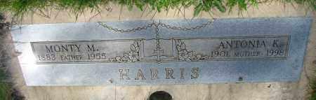 HARRIS, ANTONIA K - Marion County, Oregon | ANTONIA K HARRIS - Oregon Gravestone Photos