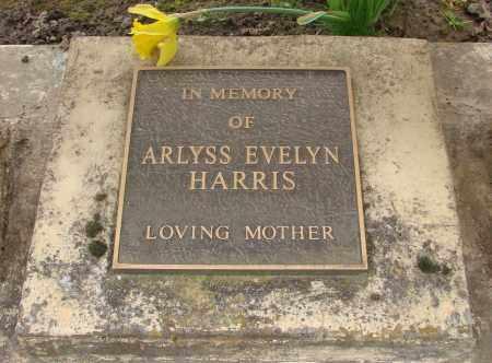 HARRIS, ARLYSS EVELYN - Marion County, Oregon | ARLYSS EVELYN HARRIS - Oregon Gravestone Photos