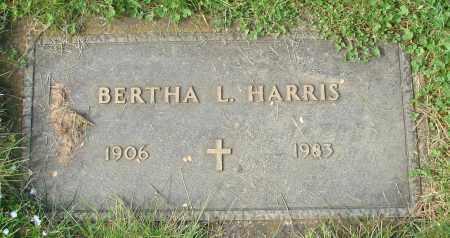HARRIS, BERTHA L - Marion County, Oregon | BERTHA L HARRIS - Oregon Gravestone Photos