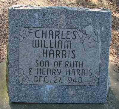 HARRIS, CHARLES WILLIAM - Marion County, Oregon | CHARLES WILLIAM HARRIS - Oregon Gravestone Photos