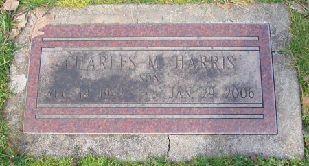 HARRIS, CHARLES M - Marion County, Oregon | CHARLES M HARRIS - Oregon Gravestone Photos