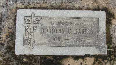 HARRIS, DOROTHY C - Marion County, Oregon | DOROTHY C HARRIS - Oregon Gravestone Photos