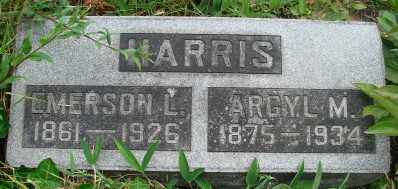 HARRIS, MARY ARGYL - Marion County, Oregon | MARY ARGYL HARRIS - Oregon Gravestone Photos