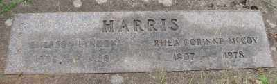HARRIS, EMERSON LYNDON - Marion County, Oregon | EMERSON LYNDON HARRIS - Oregon Gravestone Photos