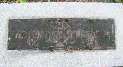 HARRIS, EMERSON LYNDON JR - Marion County, Oregon | EMERSON LYNDON JR HARRIS - Oregon Gravestone Photos