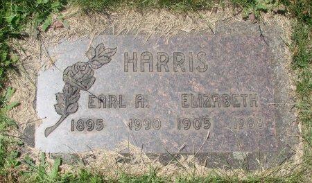 HARRIS, ELIZABETH - Marion County, Oregon | ELIZABETH HARRIS - Oregon Gravestone Photos