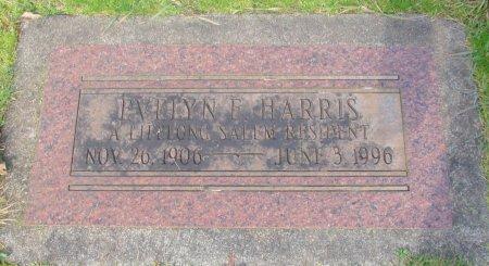 HARRIS, EVELYN ELIZABETH - Marion County, Oregon | EVELYN ELIZABETH HARRIS - Oregon Gravestone Photos