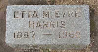 HARRIS, ETTA M - Marion County, Oregon | ETTA M HARRIS - Oregon Gravestone Photos