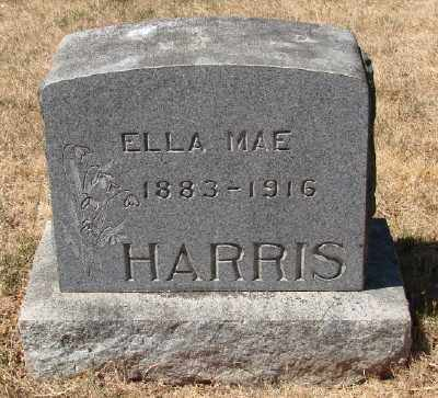 HARRIS, ELLA MAE - Marion County, Oregon | ELLA MAE HARRIS - Oregon Gravestone Photos