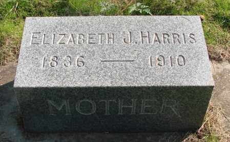 HARRIS, ELIZABETH JANE - Marion County, Oregon   ELIZABETH JANE HARRIS - Oregon Gravestone Photos