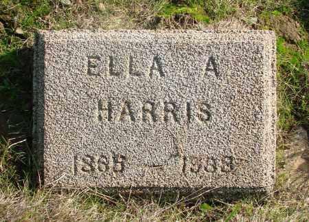 HARRIS, ELLA A - Marion County, Oregon | ELLA A HARRIS - Oregon Gravestone Photos