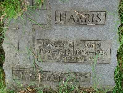 HARRIS, FRANCES F - Marion County, Oregon   FRANCES F HARRIS - Oregon Gravestone Photos