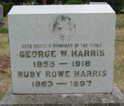 HARRIS, GEORGE W - Marion County, Oregon | GEORGE W HARRIS - Oregon Gravestone Photos