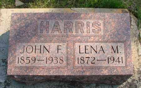 HARRIS, JOHN FRANKLIN - Marion County, Oregon | JOHN FRANKLIN HARRIS - Oregon Gravestone Photos