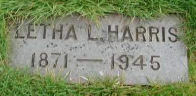HARRIS, LETHA L - Marion County, Oregon | LETHA L HARRIS - Oregon Gravestone Photos