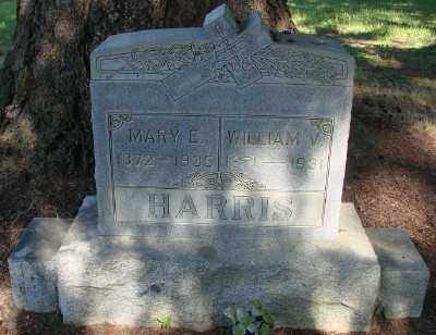 HARRIS, MARY E - Marion County, Oregon | MARY E HARRIS - Oregon Gravestone Photos