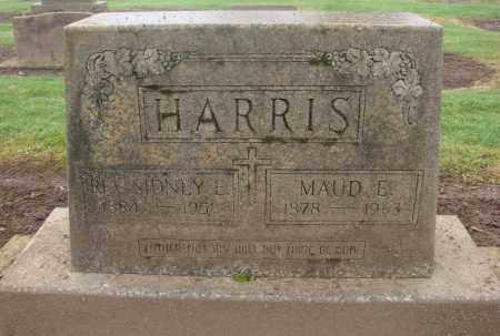 HARRIS, SIDNEY E - Marion County, Oregon | SIDNEY E HARRIS - Oregon Gravestone Photos