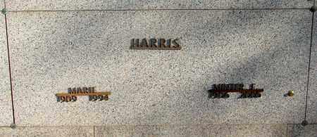 HARRIS, MINTER E - Marion County, Oregon | MINTER E HARRIS - Oregon Gravestone Photos