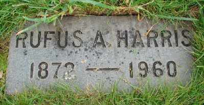 HARRIS, RUFUS A - Marion County, Oregon | RUFUS A HARRIS - Oregon Gravestone Photos