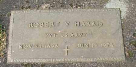 HARRIS, ROBERT V - Marion County, Oregon | ROBERT V HARRIS - Oregon Gravestone Photos