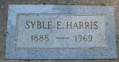 HARRIS, SYBLE E - Marion County, Oregon | SYBLE E HARRIS - Oregon Gravestone Photos