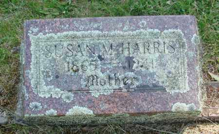 HARRIS, SUSAN M - Marion County, Oregon | SUSAN M HARRIS - Oregon Gravestone Photos