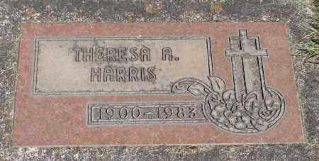 HARRIS, THERESA A - Marion County, Oregon | THERESA A HARRIS - Oregon Gravestone Photos