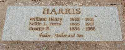 HARRIS, NELLIE L - Marion County, Oregon | NELLIE L HARRIS - Oregon Gravestone Photos