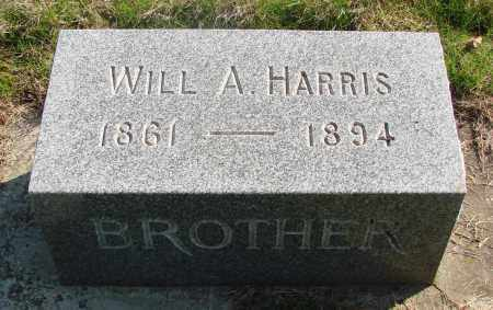 HARRIS, WILL A - Marion County, Oregon | WILL A HARRIS - Oregon Gravestone Photos