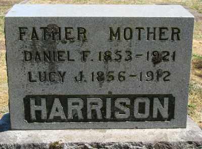 HARRISON, DANIEL F - Marion County, Oregon | DANIEL F HARRISON - Oregon Gravestone Photos