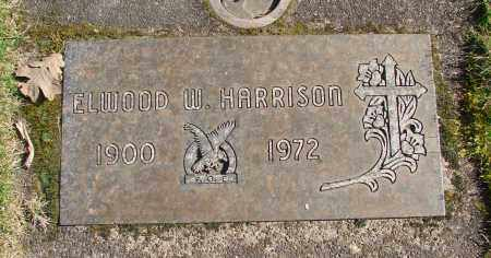 HARRISON, ELWOOD W - Marion County, Oregon | ELWOOD W HARRISON - Oregon Gravestone Photos