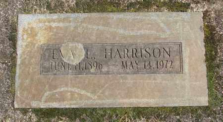 HARRISON, EVA L - Marion County, Oregon   EVA L HARRISON - Oregon Gravestone Photos