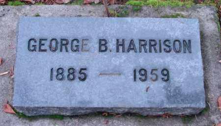HARRISON, GEORGE BAKER - Marion County, Oregon | GEORGE BAKER HARRISON - Oregon Gravestone Photos