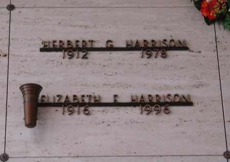 HARRISON, ELIZABETH F - Marion County, Oregon | ELIZABETH F HARRISON - Oregon Gravestone Photos