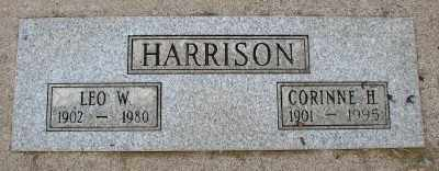 HARRISON, LEO WILLIAM - Marion County, Oregon | LEO WILLIAM HARRISON - Oregon Gravestone Photos