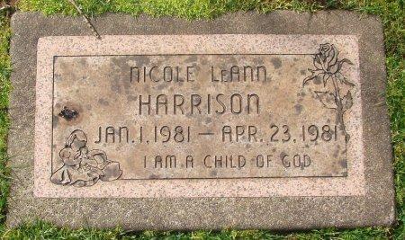 HARRISON, NICOLE LEANN - Marion County, Oregon | NICOLE LEANN HARRISON - Oregon Gravestone Photos