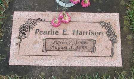 HARRISON, PEARLIE E - Marion County, Oregon | PEARLIE E HARRISON - Oregon Gravestone Photos