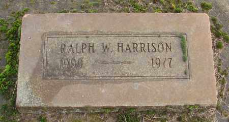 HARRISON, RALPH W - Marion County, Oregon   RALPH W HARRISON - Oregon Gravestone Photos