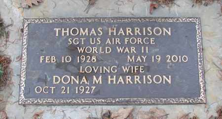 HARRISON (WWII), THOMAS - Marion County, Oregon | THOMAS HARRISON (WWII) - Oregon Gravestone Photos