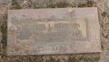 HARRISON, WILTON L - Marion County, Oregon | WILTON L HARRISON - Oregon Gravestone Photos