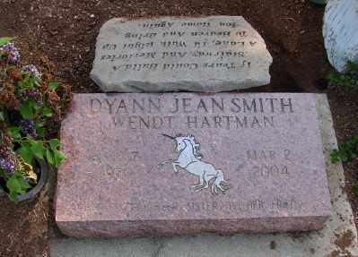 SMITH HARTMAN, DYANN JEAN - Marion County, Oregon | DYANN JEAN SMITH HARTMAN - Oregon Gravestone Photos