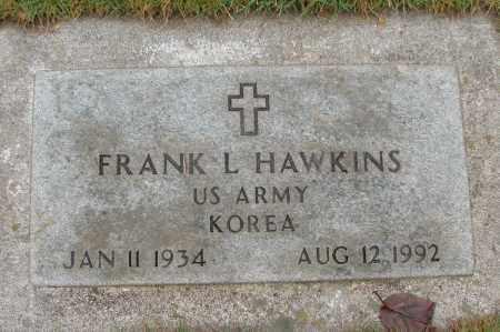 HAWKINS (KOR), FRANK L - Marion County, Oregon | FRANK L HAWKINS (KOR) - Oregon Gravestone Photos
