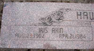 AKIN HAWKINS, IRIS - Marion County, Oregon | IRIS AKIN HAWKINS - Oregon Gravestone Photos