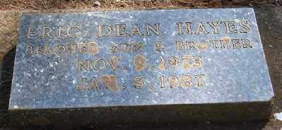 HAYES, ERIC DEAN - Marion County, Oregon | ERIC DEAN HAYES - Oregon Gravestone Photos