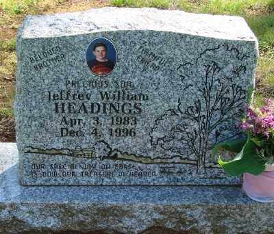 HEADINGS, JEFFREY WILLIAM - Marion County, Oregon | JEFFREY WILLIAM HEADINGS - Oregon Gravestone Photos