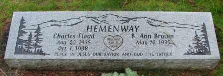 BROWN, B ANN - Marion County, Oregon | B ANN BROWN - Oregon Gravestone Photos
