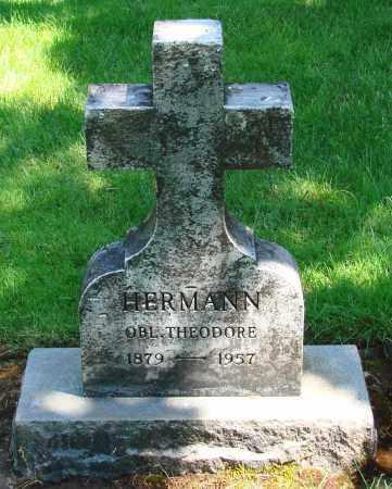 HERMANN, THEODORE - Marion County, Oregon | THEODORE HERMANN - Oregon Gravestone Photos
