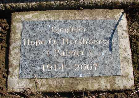 PALMER, HOPE O - Marion County, Oregon | HOPE O PALMER - Oregon Gravestone Photos