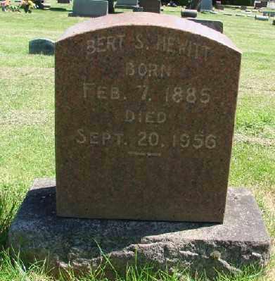 HEWITT, BERT S - Marion County, Oregon | BERT S HEWITT - Oregon Gravestone Photos